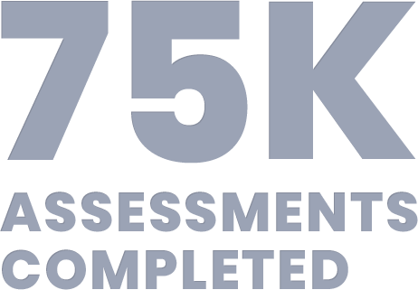 75k Assessments Completed
